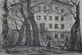 Деревья у Дворца (1970-80-е гг..)