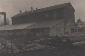 Цех шамотного кирпича Воткинский завод (1930-е года)