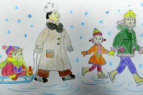 Галимова Алина 1 «В» класс Воткинский лицей (педагог – Давыдова Светлана Сергеевна)