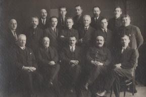 Группа инженерно-технических работников (1928 год)